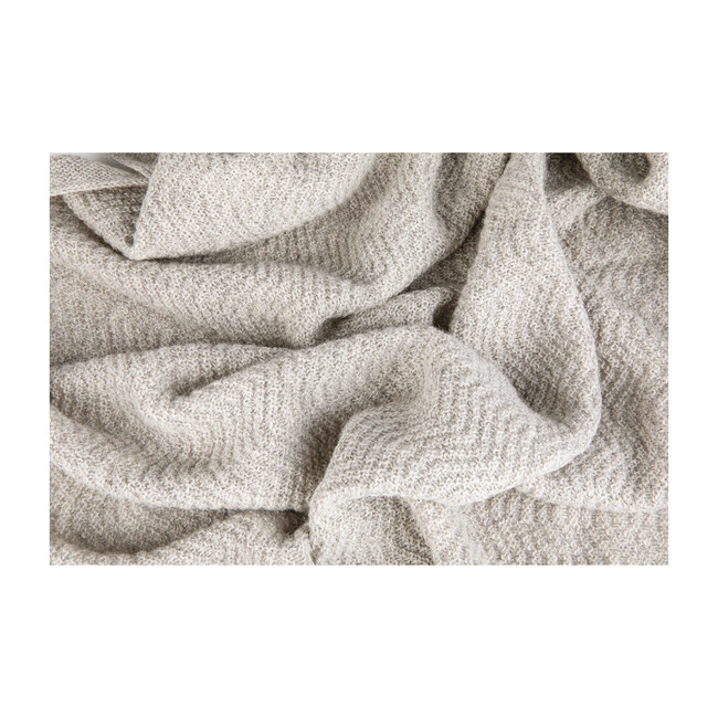 Wave Baby Blanket, Oat