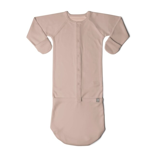 Solid Sleeper Gown, Cameo Rose