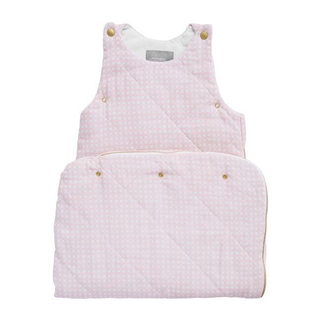 Sleeping Bag, Dusty Pink Gingham