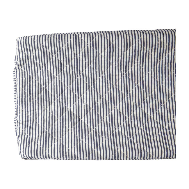 Stripes Away Changing Pad Cover, Ink