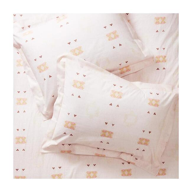 Sheet Set, Blush Cactus Silk