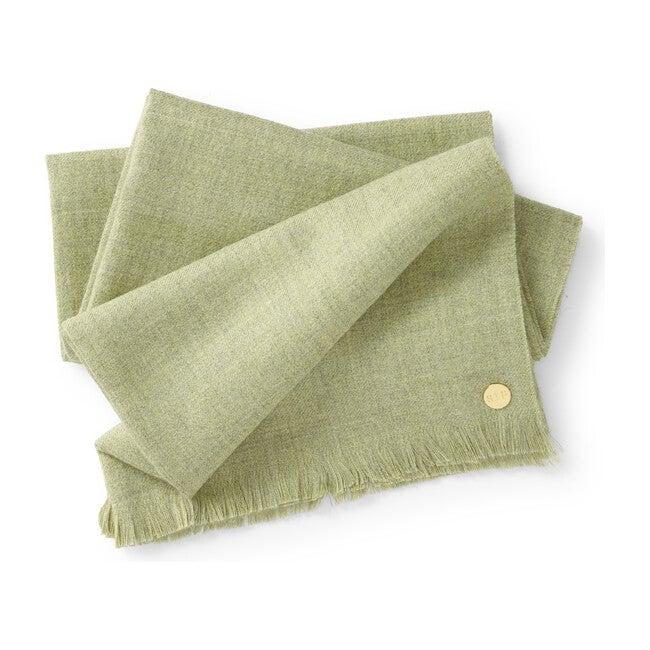 Baby Alpaca Throw Blanket, Pistachio
