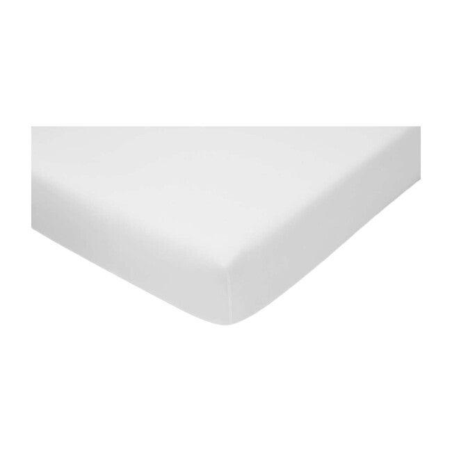 Jr. Crib Sheet, White