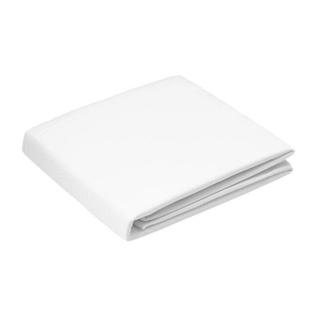 Jr. Sateen Sheet Set, White
