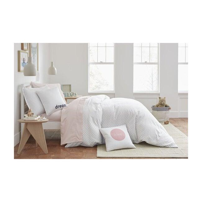 Jr. Sateen Sheet Set, Pink