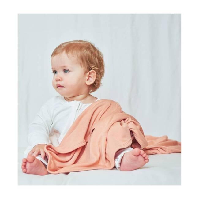 Organic Knit Nursery Blanket, Prickly Pear