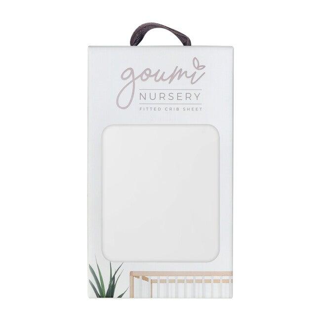 Organic Knit Crib Sheet, Desert Mist