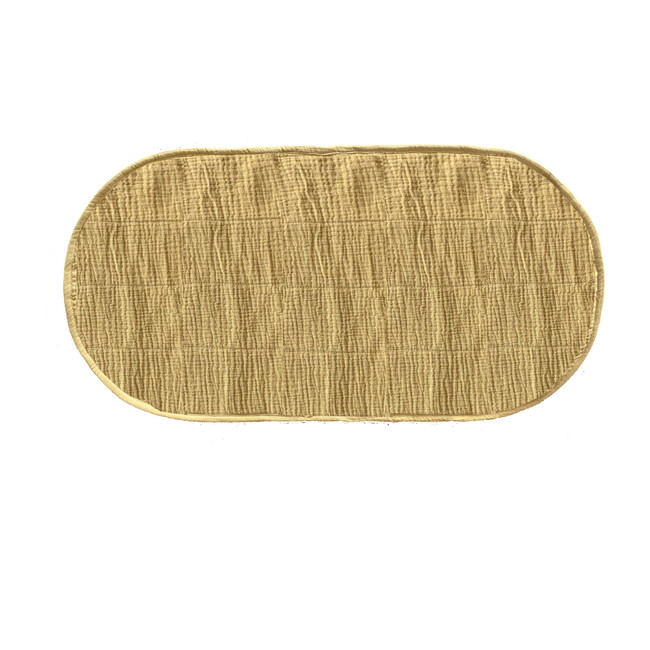 Luxe Organic Cotton Liner, Mustard - Changing Pads - 1