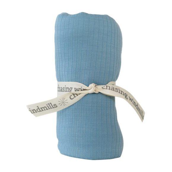 Merino Wool Companion Blanket, Blue