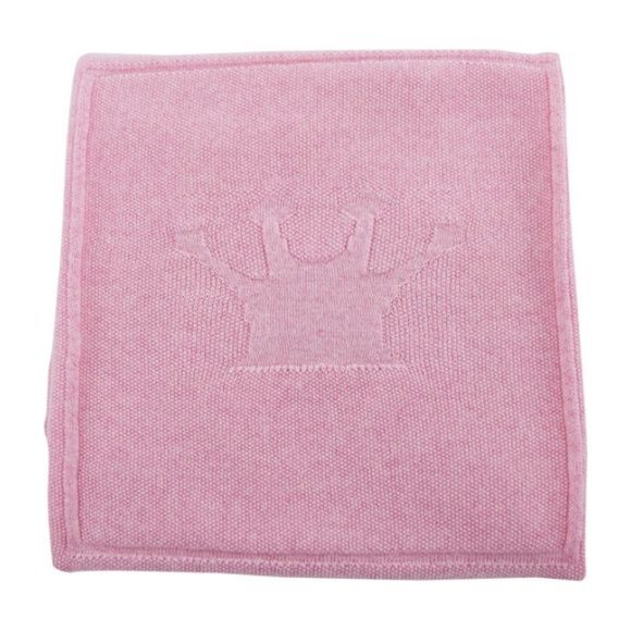 Merino Wool Little Crown Blanket