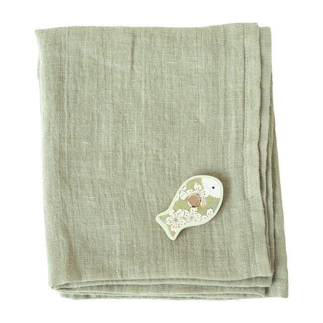 Set of 2 Muslin Cloth, Sage