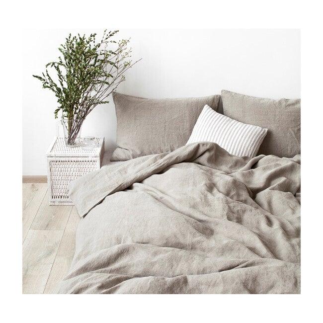 Linen Flat Sheet, Melange