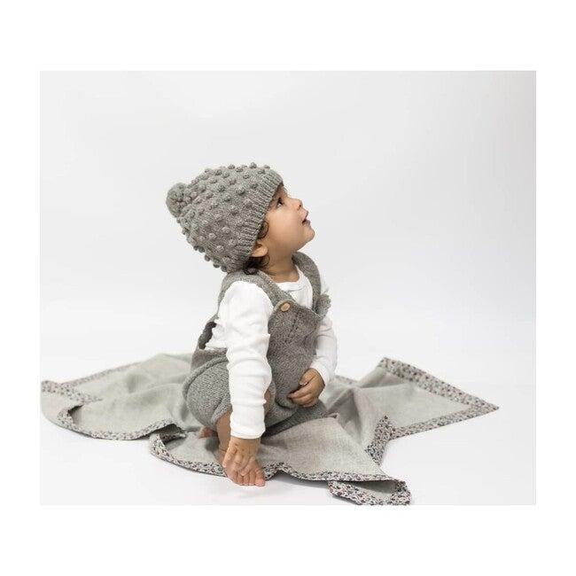 Le Temps Viendra Baby Blanket, Grey