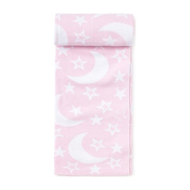 Moon & Star Novelty Blanket, Pink
