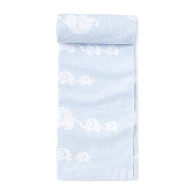 Elephant Novelty Blanket, Blue