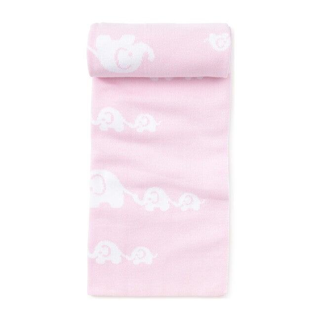 Elephant Novelty Blanket, Pink