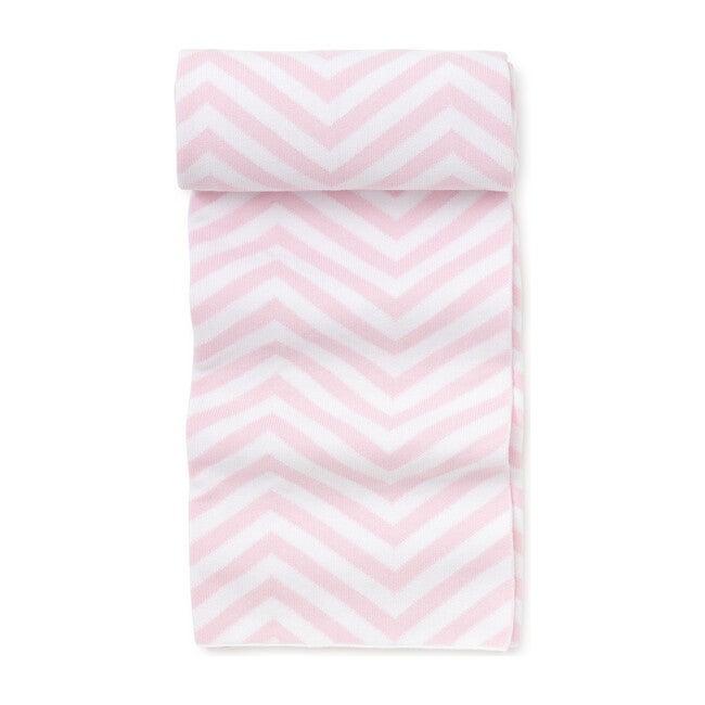 Chevron Novelty Blanket, Pink