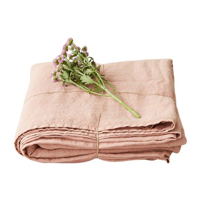 Linen Flat Sheet, Café Crème