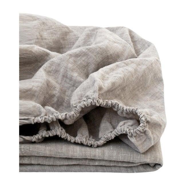 Linen Fitted Sheet, Melange