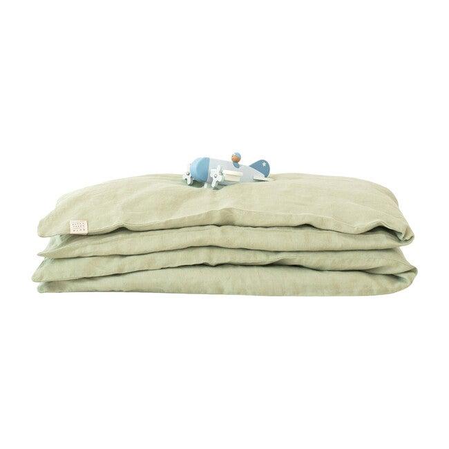 Linen Duvet Cover, Sage
