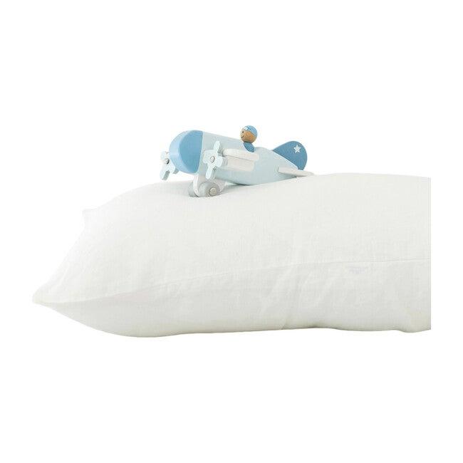 Kids Linen Pillowcase, White
