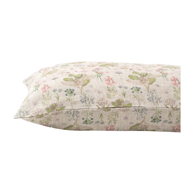 Kids Linen Pillowcase, Botany