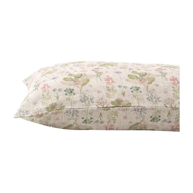 Kids Linen Pillowcase, Botany - Pillows - 1