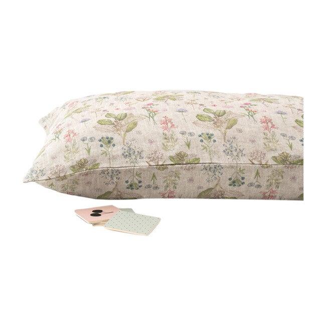 Kids Linen Pillowcase, Botany