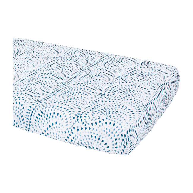 Muslin Crib Sheet, Serenity
