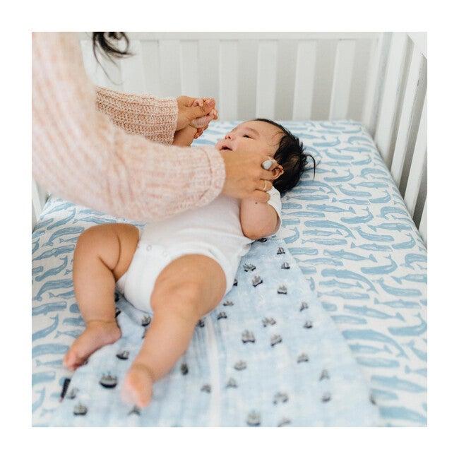 Muslin Crib Sheet, Moby