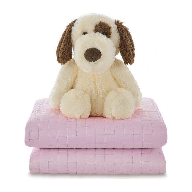 Kids Weighted Blanket Set, Pink