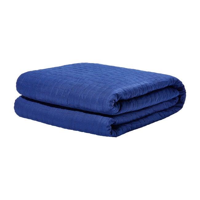 Single Gravity Cooling Blanket, Navy