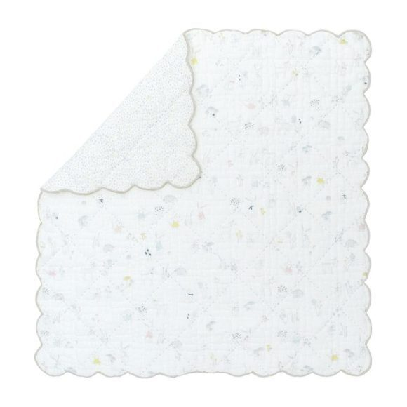 Magical Forest Scalloped Blanket