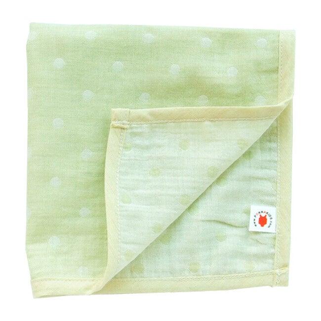 100% GOTS-Certified Organic Cotton Hanky, Lime
