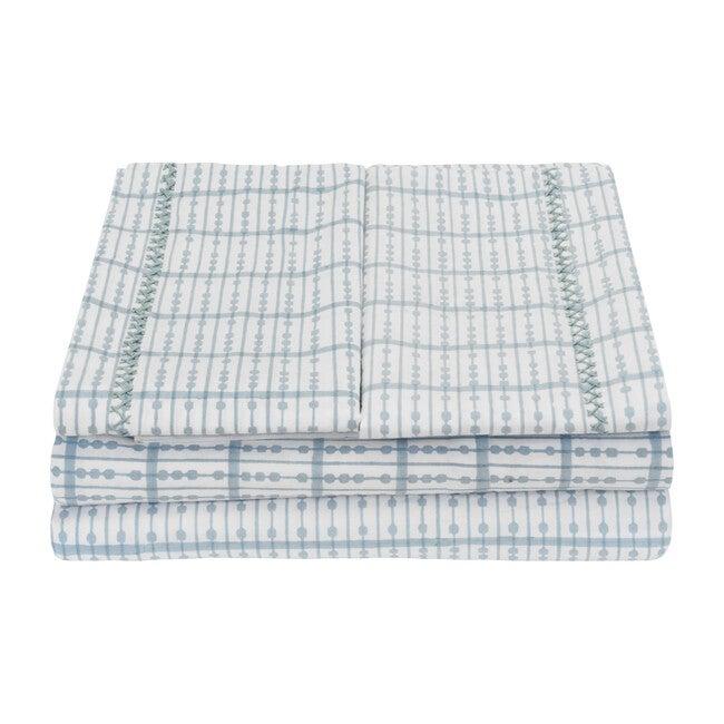 Hector Sheet Set, Midi Blue