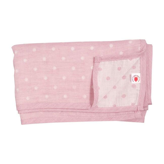 100% GOTS-Certified Organic Cotton Blanket, Cinnamon