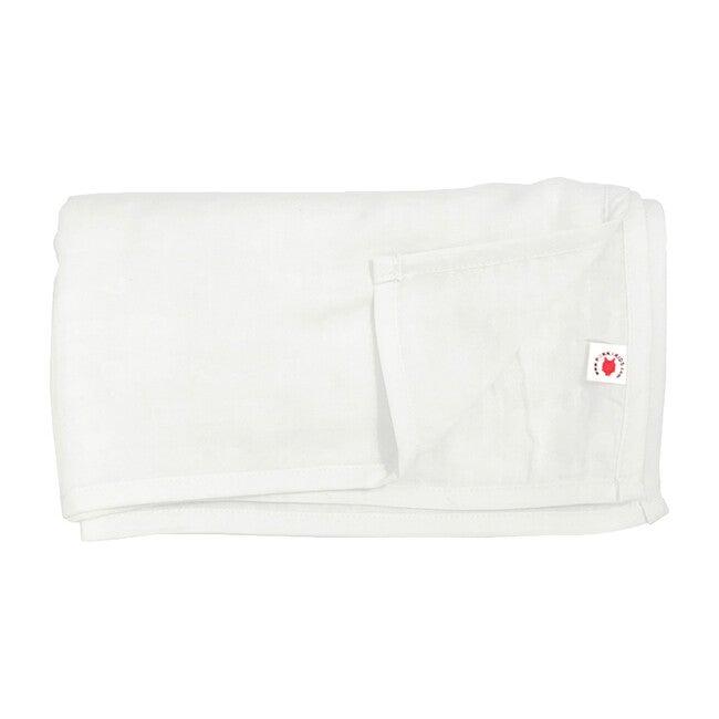 100% GOTS-Certified Organic Cotton Blanket, Pearl