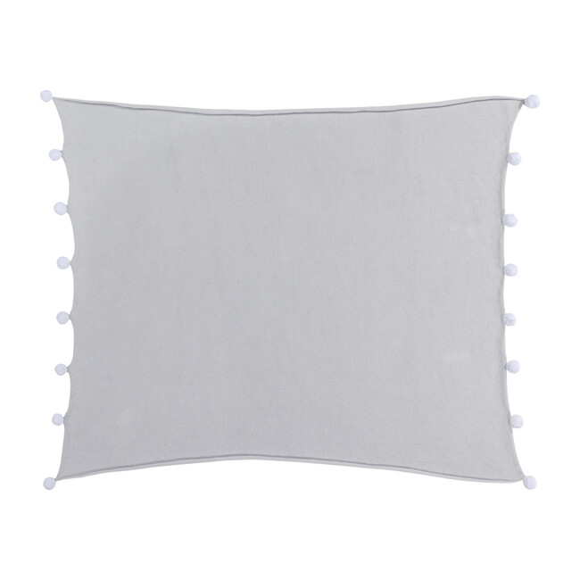 Bubbly Baby Blanket, Light Grey - Blankets - 1