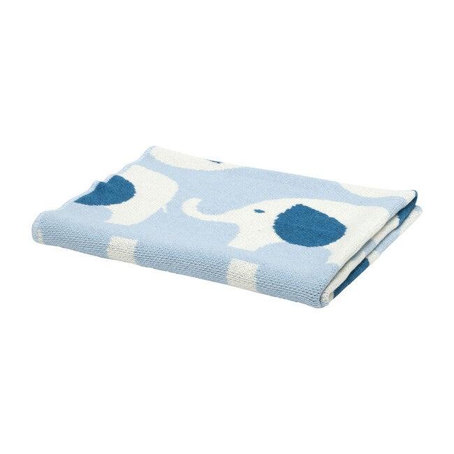 Elephant Baby Blanket, Pond