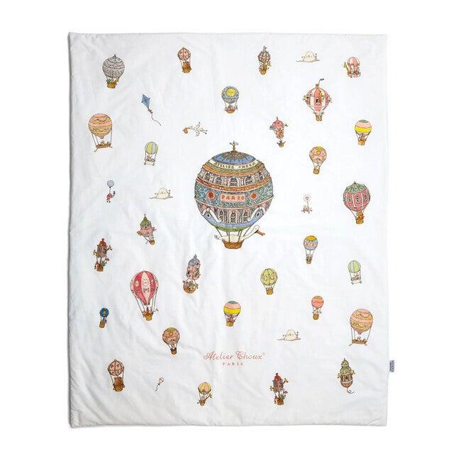Reversible Quilt, Hot Air Balloons