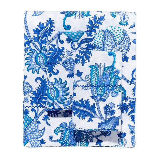 Amanda Sheet Set, Blue