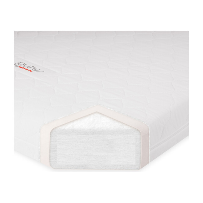 Pure Core Non-Toxic Mini Crib Mattress with Hybrid Waterproof Cover