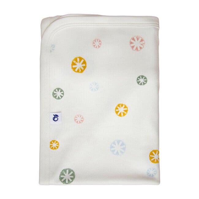 Snowflake Blanket, Eco White