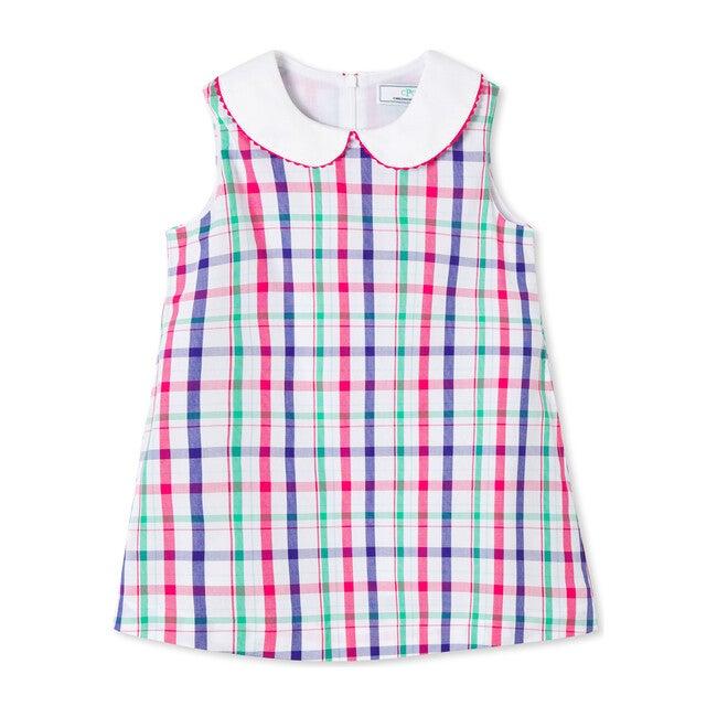 Maddie Dress, Sherbert Plaid - Dresses - 1