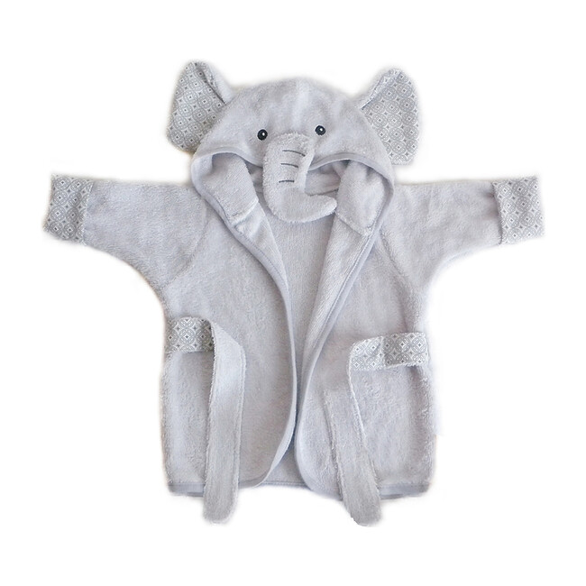 Baby Bath Robe, Elephant