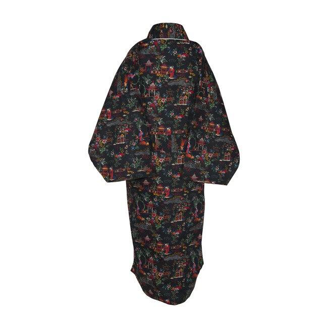 Veetzie Kimono Robe, Liberty of London Peony Pavilion