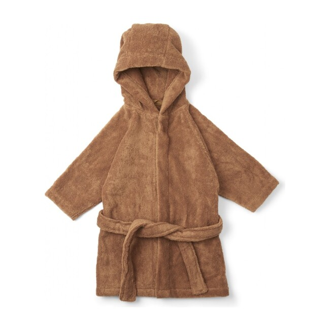 Kids Terry Bathrobe, Almond