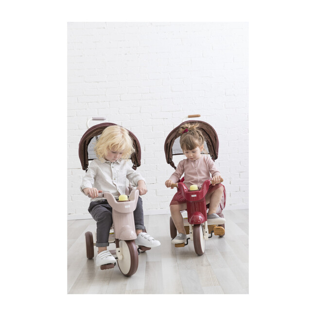 3-in-1 Folding Tricycle, Comfort Brown