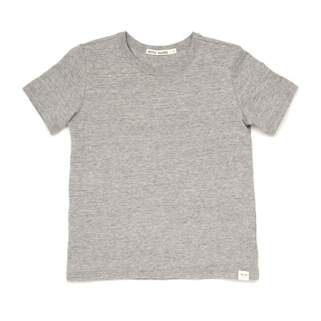 Sasha Classic Tee, Heather Grey