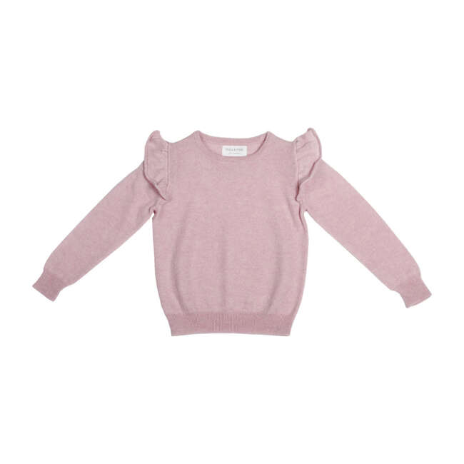 Frilled Jumper, Dusty Pink